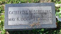 Catherine Mary <I>Ritter</I> Schilling