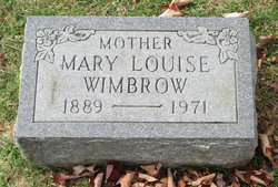 Mary Louise Wimbrow