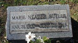 Marie Katherine <I>Neader</I> Butler