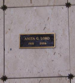 Anita G Lord