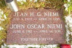 Jean H G Niemi
