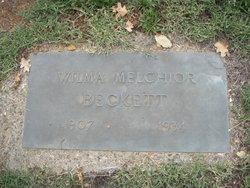 Wilma <I>Melchior</I> Beckett