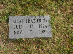 Silas Frazier, Sr