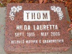 Hilda Lauretta <I>Kelly</I> Thom