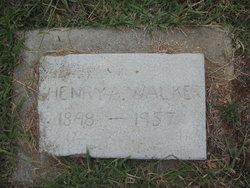 Henry A Walker