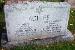 Frank Ephraim Schiff