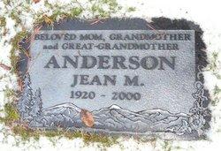 Jean M Anderson