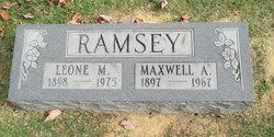 "Maxwell A ""Mac"" Ramsey"