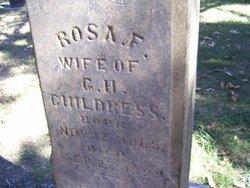 "Rosanna Florence ""Rosa"" <I>Lovett</I> Childress"