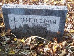 Annette C. <I>Niederkorn</I> Dahm