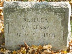 Rebecca <I>Harvey</I> McKenna