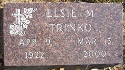 Elsie M <I>Knoepke</I> Trinko