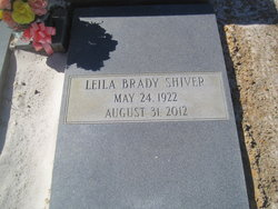 Leila <I>Brady</I> Shiver