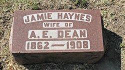 Jamie <I>Haynes</I> Dean