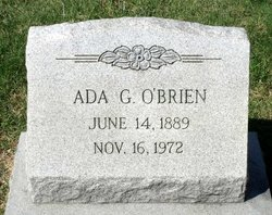 Ada Mary <I>Gellerman</I> O'Brien