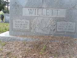 Temple Willett, Sr