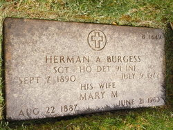 Mary M Burgess