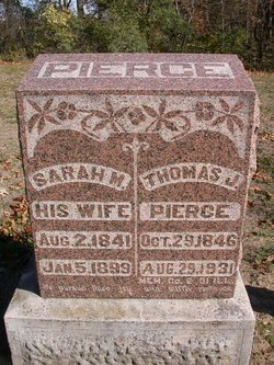 "Sarah Matilda ""Millie"" <I>Richardson</I> Pierce"