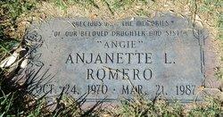 "Anjanette L ""Angie"" Romero"