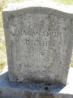 Marian <I>Smith</I> Sutcliffe