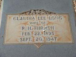 Claudia Lee <I>Long</I> Thrash