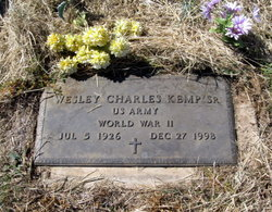 Wesley Charles Kemp, Sr
