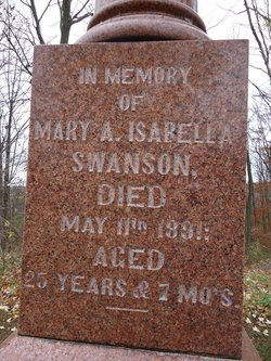 Mary A Isabella Swanson