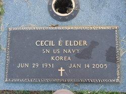 Cecil E Elder