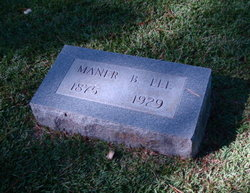 Maner <I>Bland</I> Lee