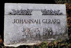 """Johannah """"Hannah"""" <I>Blohm</I> Gerard"""