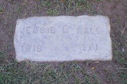 Jessie M Hall