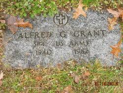 Alfred G Grant