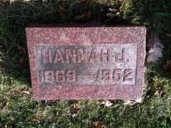 Hannah L Jane <I>Childs</I> Woodcock