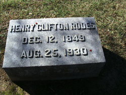 Henry Clifton Rodes