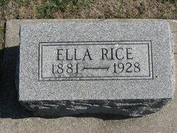 Ella <I>Olson</I> Rice