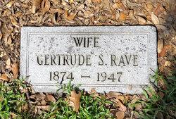Gertrude E. <I>Speers</I> Rave