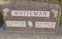 Elizabeth <I>Barbee</I> Whiteman