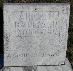 Harold H Baumann
