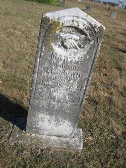 Mary E Brown