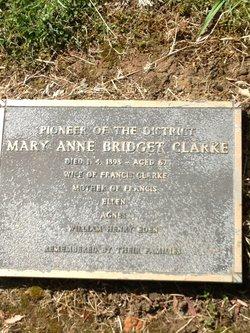Mary Anne Bridget Clarke