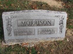 Hazel L <I>Fellhauer</I> Morrison