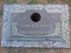 Harold F Jones