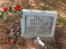 Mattie L Malcolm