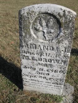 Amanda J Brown