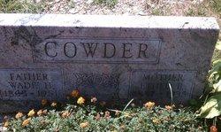Ethel Bertha <I>Caldwell</I> Cowder