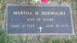 Martha H Dziewulski