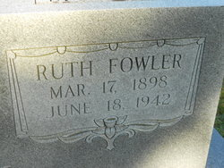 Ruth <I>Fowler</I> Sellers