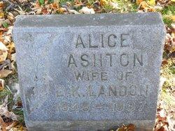 Alice Ashton <I>Bell</I> Landon
