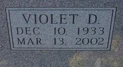 Violet D <I>Fagan</I> Meiners