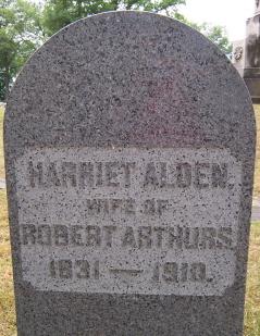 Harriet <I>Alden</I> Arthurs